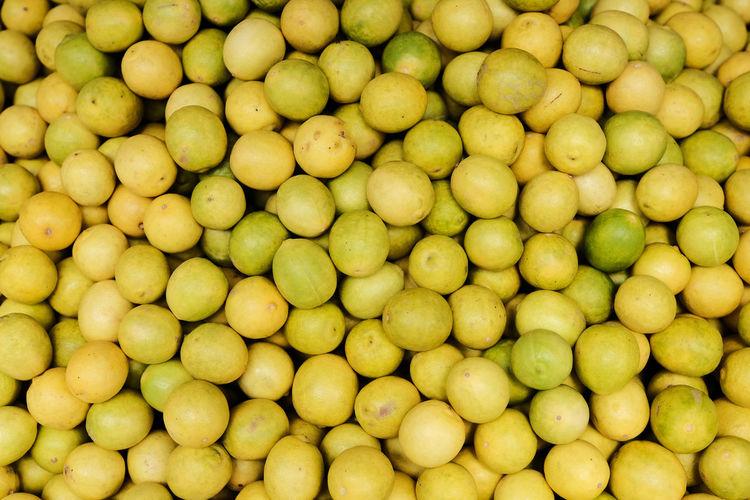 Full frame shot of fruits at market stall
