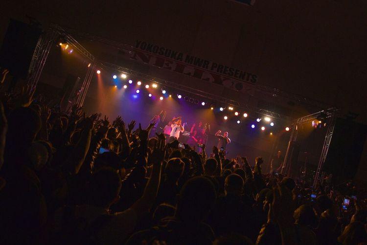 Yokosuka Discjockey Concert Concerts Concert Photography Amazing Concert Rapper Rappers Nelly HipHop