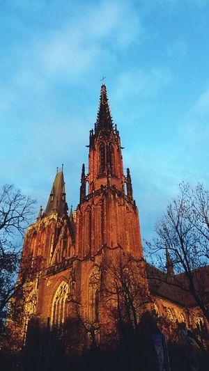 Poland 💗 Sky History No People Architecture Religion Tree Day Outdoors City Life Zima Melancholy