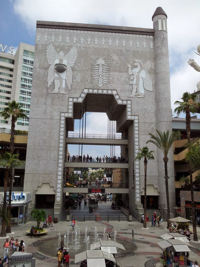 At Hollywood And Highland Center CA