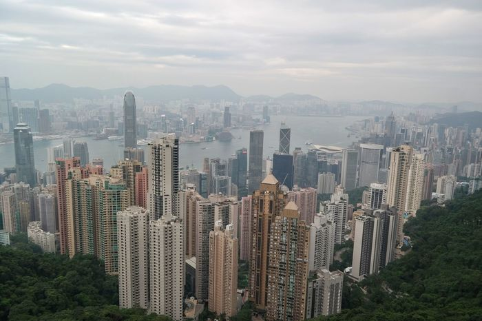 Architecture Cityscape Discoverhongkong HongKong Modern Mountain Outdoors Skyscraper Tourism Travel Destinations Urban Skyline Victoria Harbour Victoria Peak