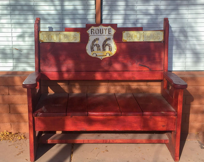 Route 66 Bench