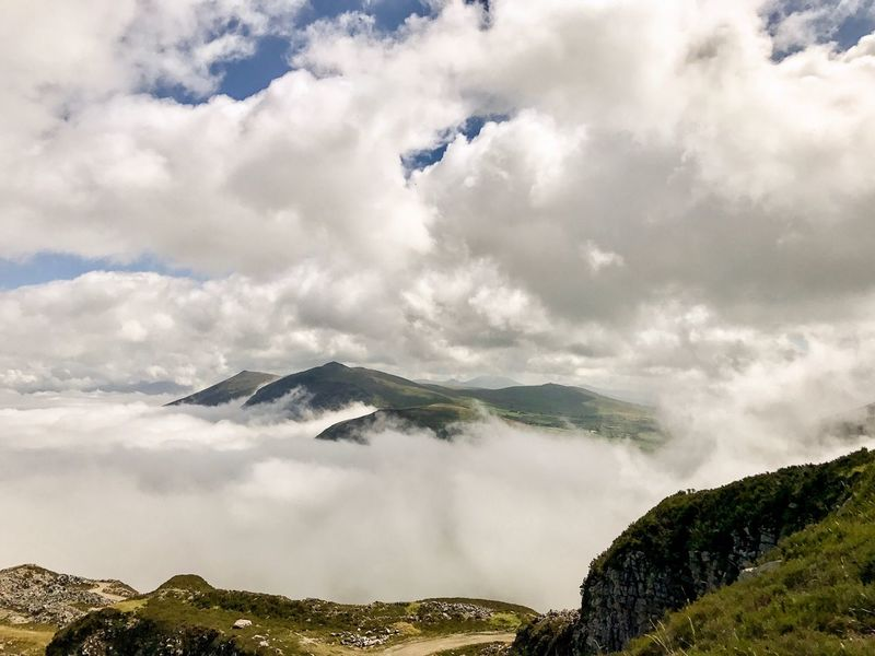 Sky Cloud - Sky Nature Scenics No People Beauty In Nature Landscape Mountain Outdoors Day