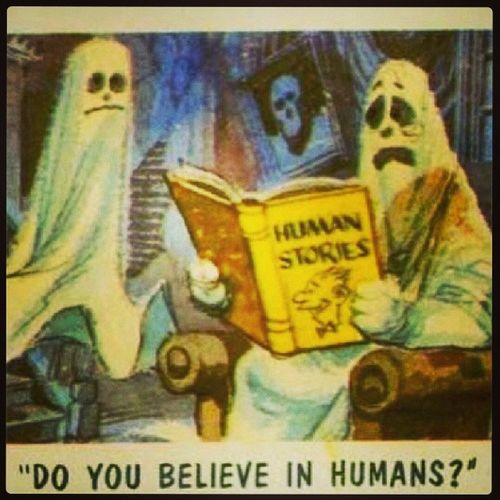 Do you believe in humans ? Doubelieve