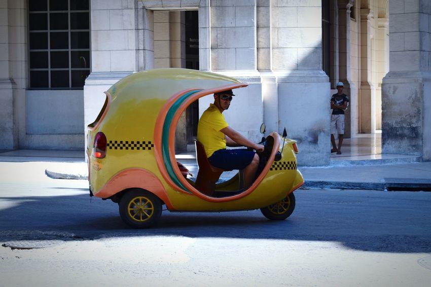 Cuba Havana TukTuk Coco Taxi