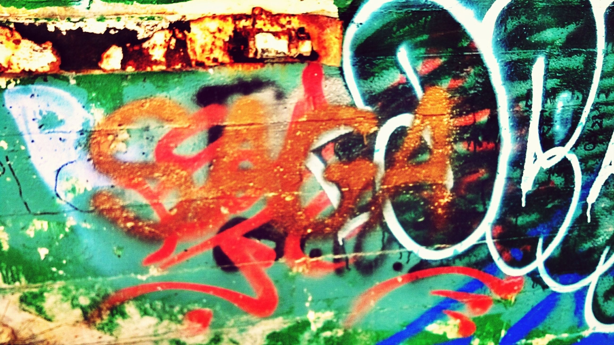 graffiti, creativity, multi colored, art and craft, art, backgrounds, full frame, wall - building feature, close-up, pattern, street art, abstract, text, no people, paint, outdoors, day, colorful, design