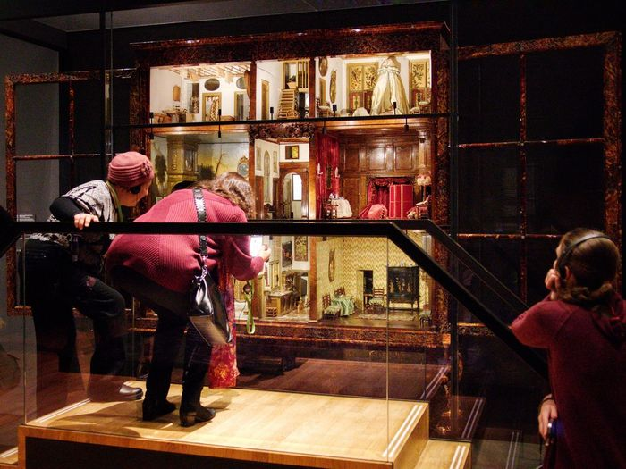 Antique doll's house Old But Awesome Tourist Attraction  Tourist Visitors Exhibition Toys Toy Museum Doll's House Dollhouse Night Real People Togetherness Lifestyles Built Structure Architecture Women