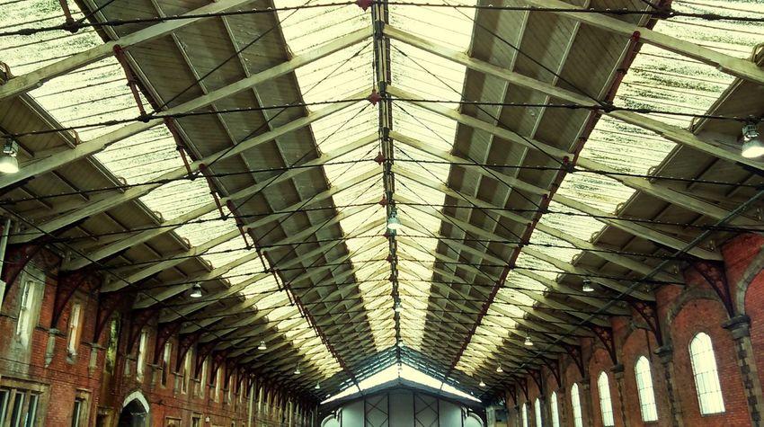 Train Shed Historical Building Showcase March Britain U.K Urban Geometry Design Great Western Railway