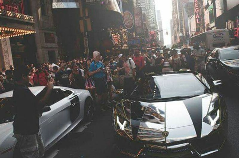Capture The Moment Captured Moment First Eyeem Photo NYC TimesSquare Times Square NYC Times Square Chrome Teamsalamone Uhhdope Lamborghini Aventador Lamborghini Aventador