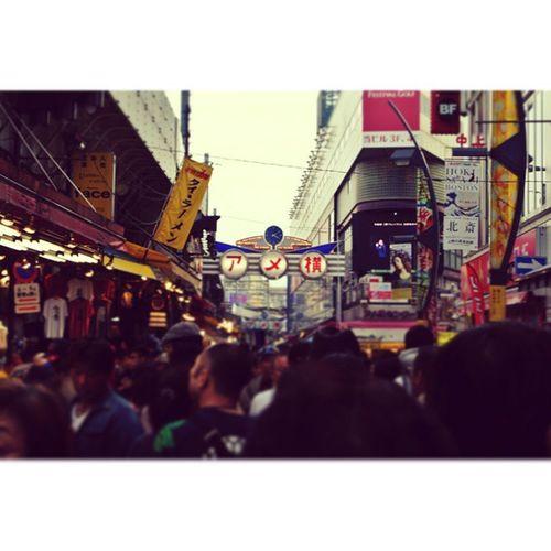 たか散歩 @谷中・アメ横 今回のゲストはたむりなさんでした💐 美味しいものいっぱい食べて満足😊 次はどこ行こうかな、 Tokyo Ueno Ameyoko