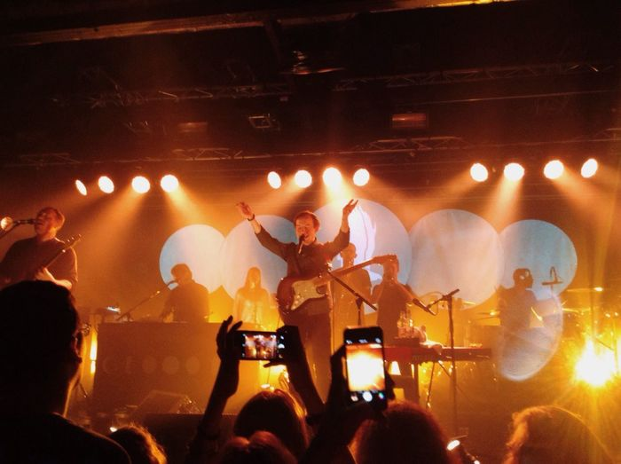 Bombay Bicycle Club last February