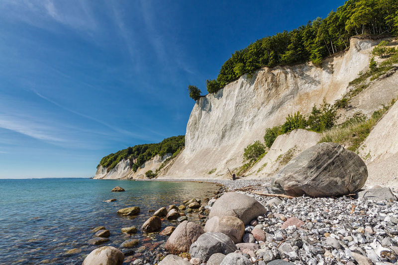 Rocky Coastline At Baltic Sea