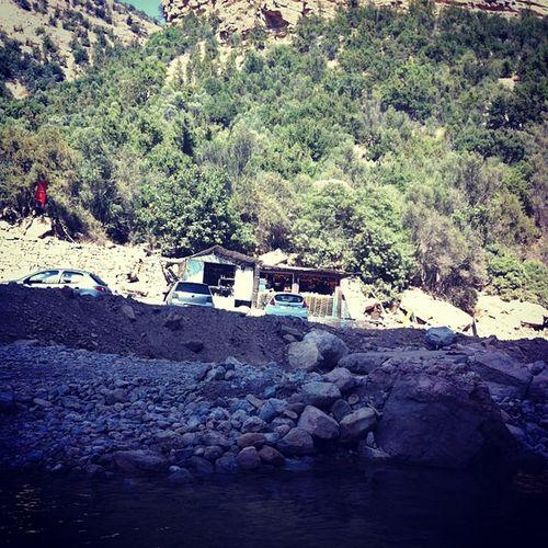 Snack Vall ée Du Paradis aourir imouzzer agadir cafe river mountain