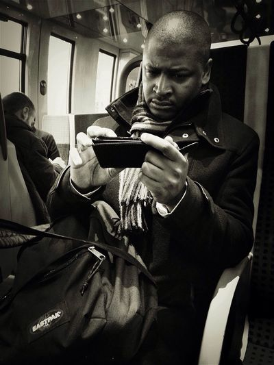 Concentration ultime ! Notes From The Underground Bw_collection Blackandwhite Subway Portraits