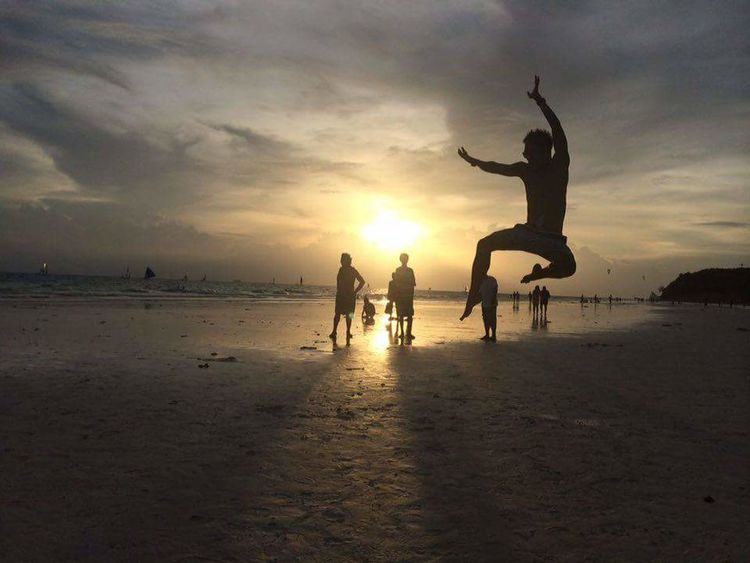 Learning Photography Beachphotography Beach Jumpshot Happymoments Relaxing Time EyeEm Gallery EyeEm Nature Lover Eye4photography  EyeEm Best Shots - Nature HelloEyeEm Ilovenature Sunset Sun Clouds Skylovers Sky Nature Beautifulinnature Naturalbeauty Photography Landscape [ [a: [a Sunset_collection Sunsetporn Cloudformations People Traveltime Ilovephotography Ilovephilippines