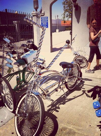 Bicycles CicLAVia Bicycle Mods
