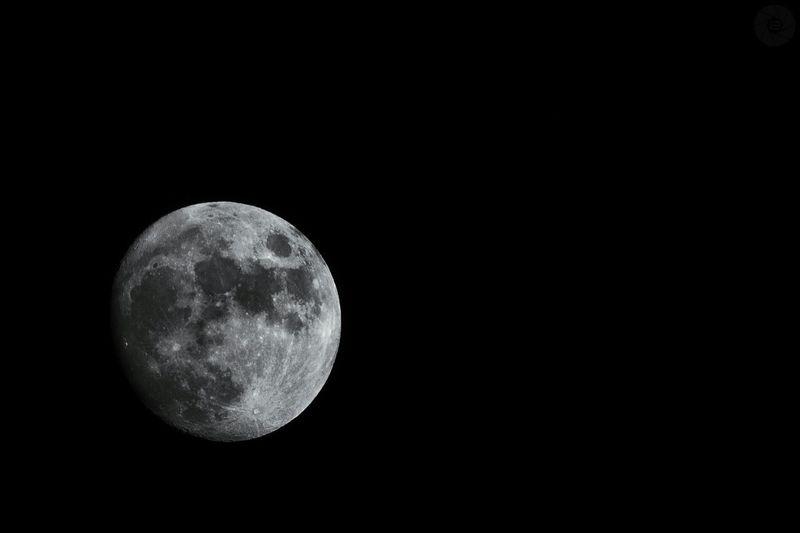Moon Waxing Gibbous 94% Project52 Week 5
