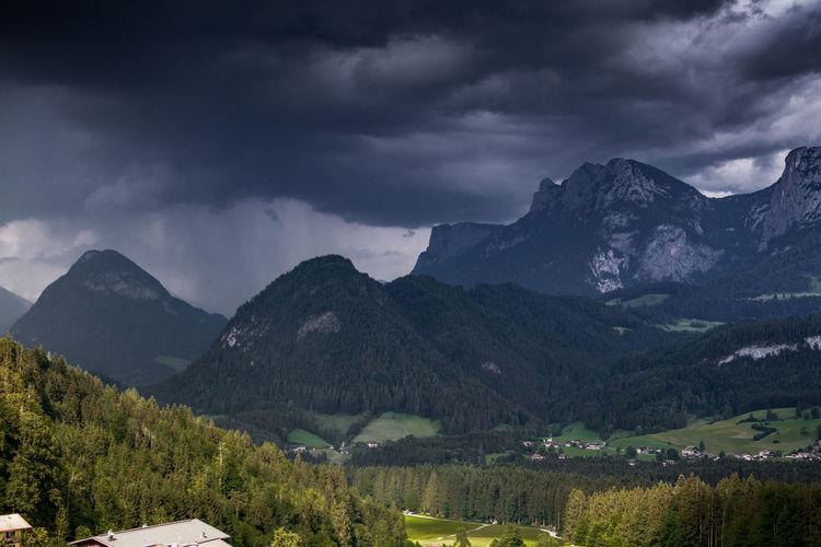 Alpengewitter