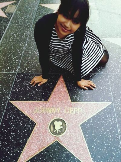 Johnydepp HollywoodWalkOfFame La California USA Loveofmylife