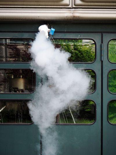 Smoke Steam Toxic Pollution In My World Urban Laboratory Pollution Window Gaz The Photojournalist - 2015 EyeEm Awards