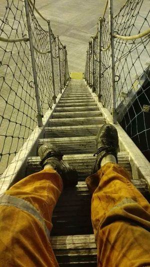 Seamanlife Gangway Net Steps Safetyshoes Orange Watchman Report
