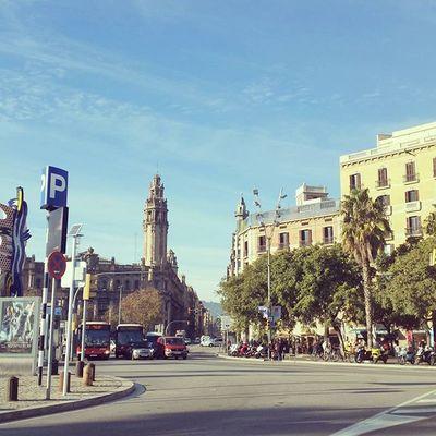 Sunny Barcelona Barça Streetview