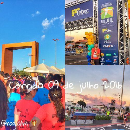 Assim finalizei o dia do níver: correndo na Corrida Internacional 09 de julho - 2016 🎉🏃🏽🎁 #roraima #boavista #brasil #brazil #photooftheday #likeforlike #like4like #nice #happy #running #run #corrida #nice #fun #funny #happy #happiness #happybirthday #photography #photo #photographer #photoshoot #photogrid #travel #instadaily #instalike #instamood @prefeituraboavista @amoboavista_rr @euamoboavista @boavistaja @boavistaadventure @fotosdeboavista @ig_roraima @welcometororaima @ig_roraima @portalroraima @fotografandororaima