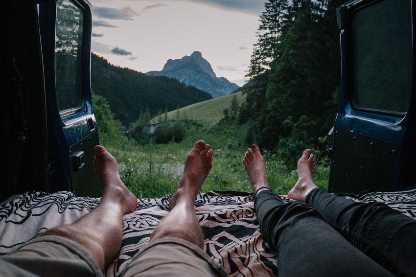 Roadtrip to Austria / Nationalpark Gesäuse Austria Berge Gesäuse Lifestyle Love National Park Steiermark Urlaub Wanderlust Camper Campervan Europe Mountain Roadtrip Togetherness Wandern Young Adult Österreich
