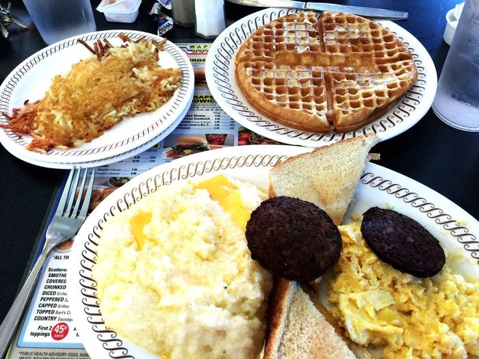 New Orleans Vacation Breakfast My Favorite Breakfast Moment Good Times Good Food IPhoneography Iphonephotography Waffle House Waffle Delicious Good Morning! GoodTimes
