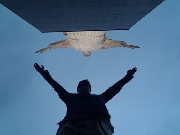 Brasil ♥ Cityscape Cristo Redentor-Río De Janeiro Jesus Loves You Pão De Açucar Awesome_view Clouds And Sky Travel Destinations View From Above View Point