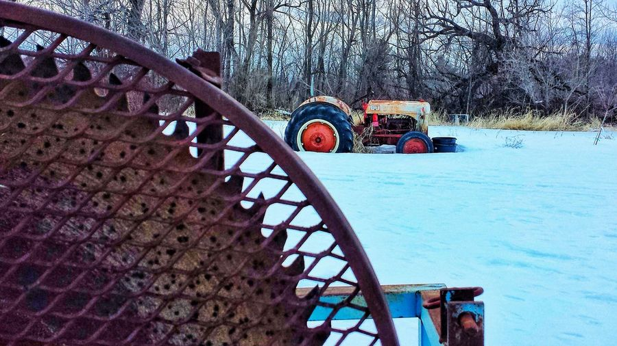 Tractors Rustic Country Life
