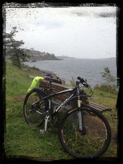Bicycle Norway Sky And Sea Bike Week