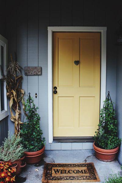 Doors Welcome Sonomacounty in Sebastopol CA Family Home