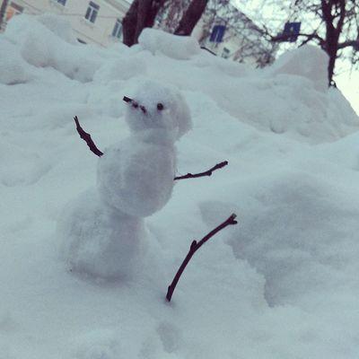 снеговичок мини зима радость friendsfunny