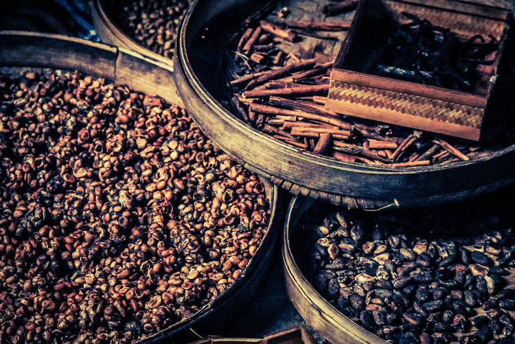 Abundance Black Peppercorn Close-up Coffe Beans Coffee Bean Day Food Food And Drink Freshness Healthy Eating No People Outdoors Raw Coffee Bean Spice Spices Spices Of The World Star Anise Variation