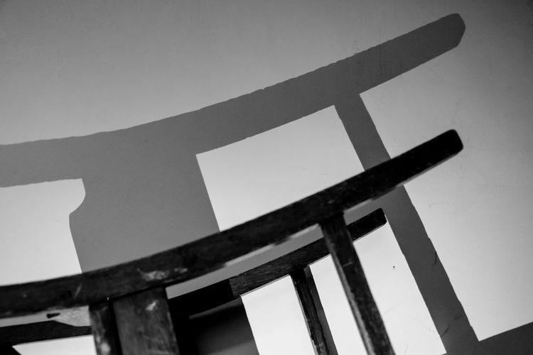 Abandoned Blackandwhite Chair Close-up Dark Grunge School Shadows