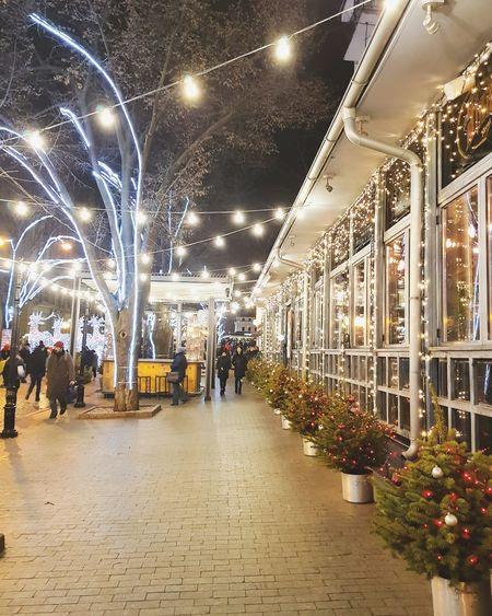 Night Illuminated Lifestyles City Indoors  People Architecture
