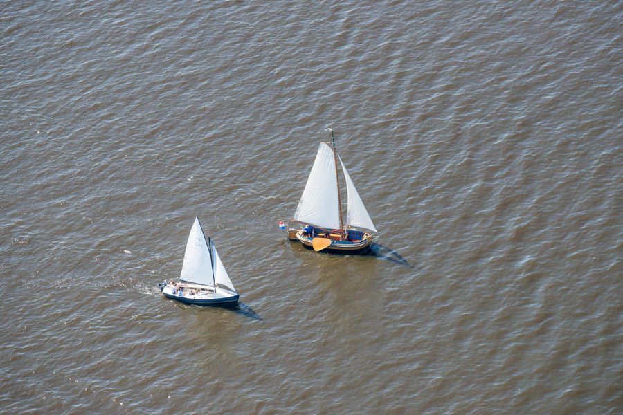 Sailing boats on the Gaastmeer Aerial Shot Netherlands Sailing Ship The Netherlands Aerial Photography Aerial View Dutch Dutch Landscape Floating On Water Gaastmeer High Angle View Holland Nautical Vessel on the move Recreational Boat Sailboat Sailing Sailing Boat Transportation Travel Typical Dutch Water