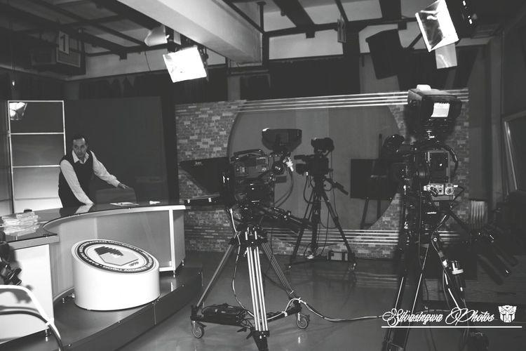 Interview on dau tv...silvasingwa photos... Studio Interview