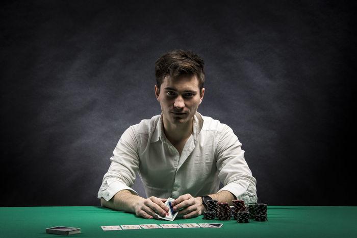 my pokerface Estonia Poker Night Gambling Cards Serious Pokerface Moody Gambling Cards Poker - Card Game