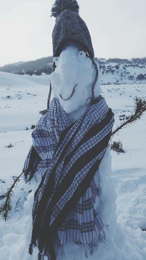 Snow Day Snowman Australia