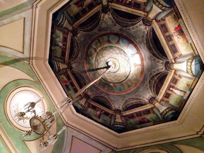 Tempus VisitaMR Memory Of XIX Century Museum Life Ceiling