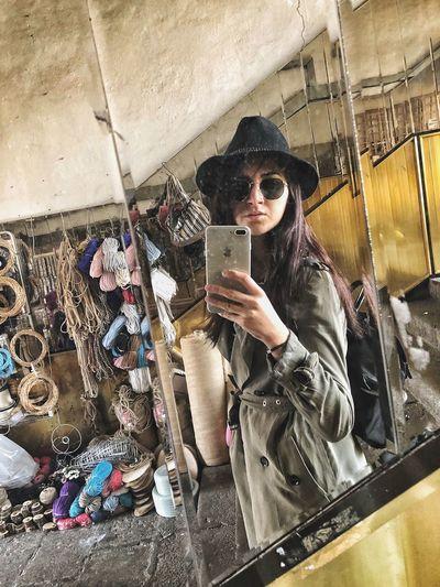 🕵🏻♀️ Beymen Fashion Beymen Vintage Detective One Person Photography Themes Smart Phone Selfie Technology