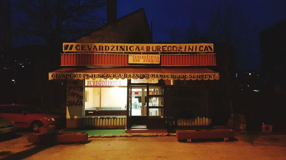 Cevapcici Cevapi Sarajevo Fastfood Oldschool