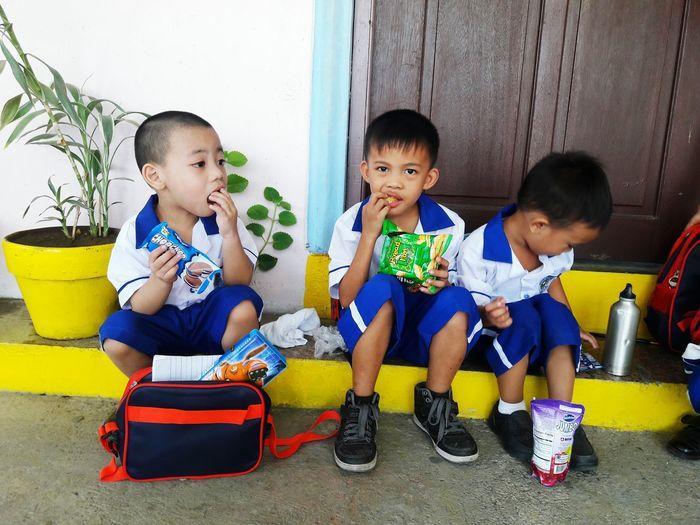 Kidsphotography Kidsmood Filipino Kindergarten Breaktime Snacks Filipino Kids