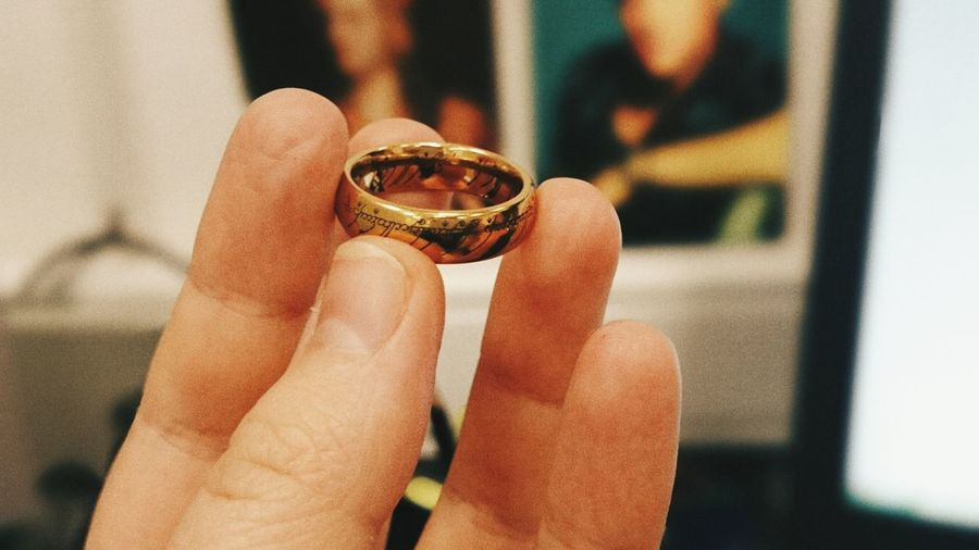 And One Ring to rule them all The One Ring Lord Of The Rings Ring Sauron