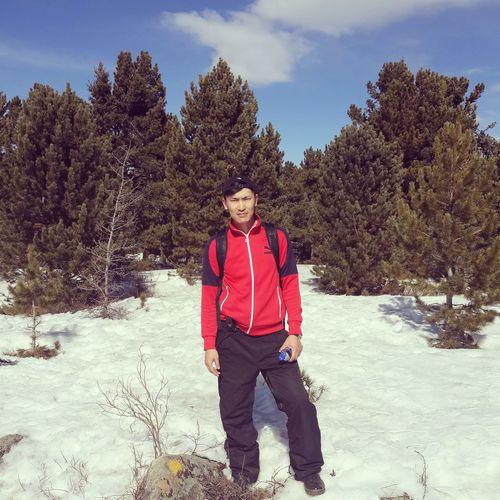 Winter Hiking In Mongolia