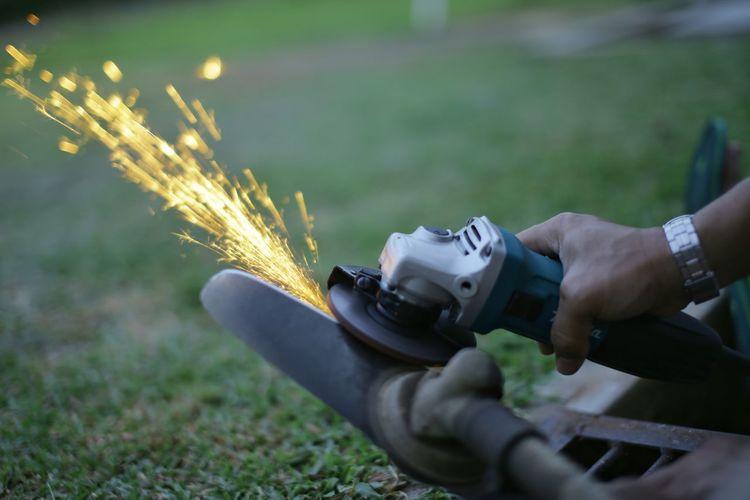 Sharpening blade