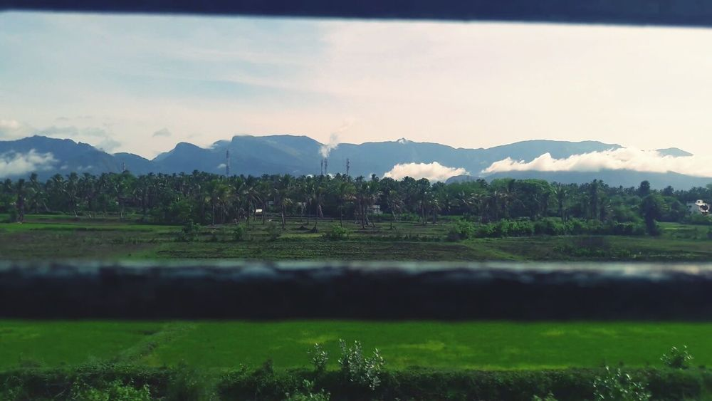 Kerala Western Ghats View From Train Window Morning😊😊😊 Mountains Clouds Showcase July Cloud Foggy Weather EyeEmNewHere The Great Outdoors - 2017 EyeEm Awards Live For The Story Lost In The Landscape