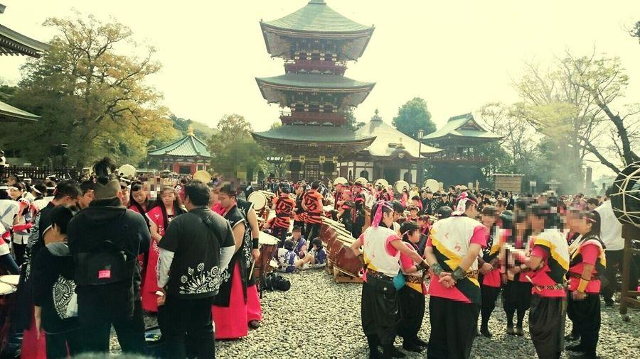 太鼓祭りきてます! Naritasan Shinshoji Temple-大本山成田山 太鼓祭り